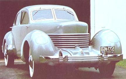 1936 cord 810 sedan westchester