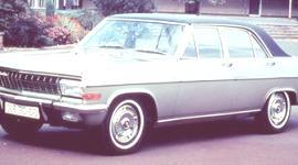 Opel Diplomat A V8 1964, historia