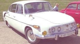 Tatra 603 1956, historia