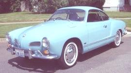 Volkswagen Karmann Ghia 1955, historia