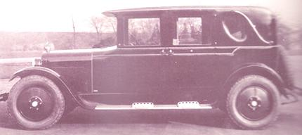 Dodge Sedan 7 plazas 1925
