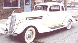 Hudson Terraplane 8 1933, historia