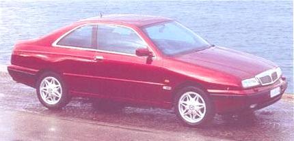 Kappa Coupe junto al mar