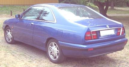 coupe Lancia K de atrás