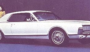 Mercury Cougar 1967, historia
