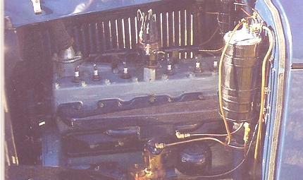 Motor de los tres mosqueteros