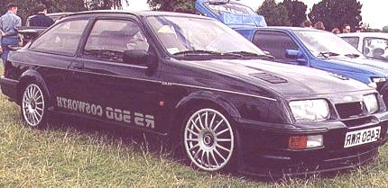 Rs 500 Cosworth 1987