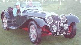 Jaguar SS 100 1937, historia