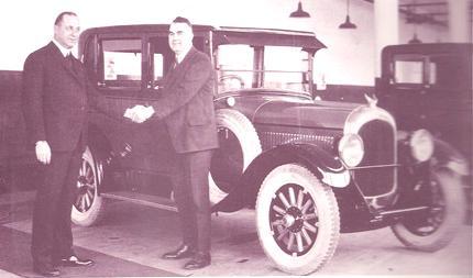 Walter P. Chrysler y Bob Zeder