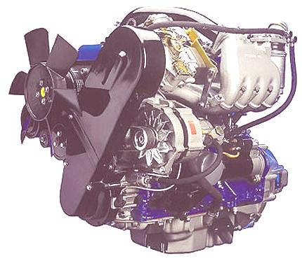 motor diesel moderno