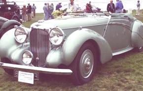 Lagonda LG 45 1936, historia
