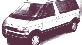 Historia de los Concept Cars, Ford Aerostar Van 1987 y LIV Ghia de 1988