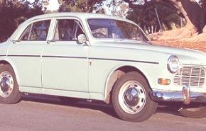 Volvo 122 S 1958, historia