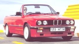 BMW 325I Cabriolet 1985, historia