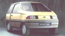 Historia de los Concept Cars, Ford Pockar y Probé II 1980