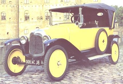 10 HP Type A 1922