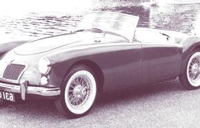 MG A 1955, historia