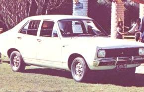 Dodge 1500 (Argentina): 1971-1982, historia