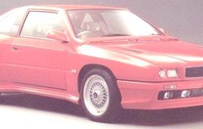 Maserati Shamal 1990, historia