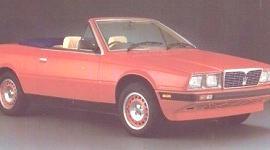 Maserati Spyder E 1985, historia