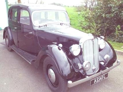 1946 Rover_12_HP_Saloon