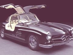 Coches clásicos de Mercedes-Benz