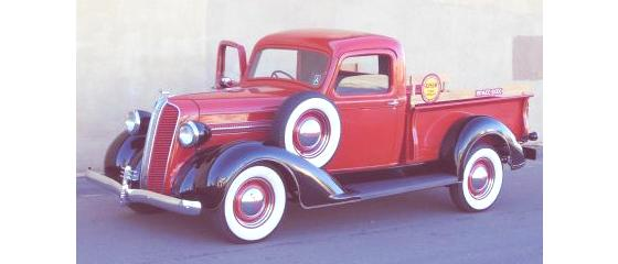 Historia de las Pick-Up 1937 Dodge