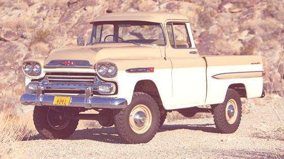 Historia de las Pick-Up 1959 Chevrolet 3100 Apache Fleetside Deluxe