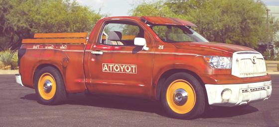 Historia de las Pick-Up 2011 Toyota Tundra Clint Bowyer custom