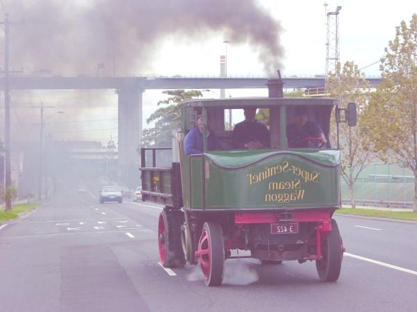 Steam-Wagon