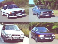 Historia de todos los modelos de Audi